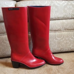 Marc Jacob's rain boots